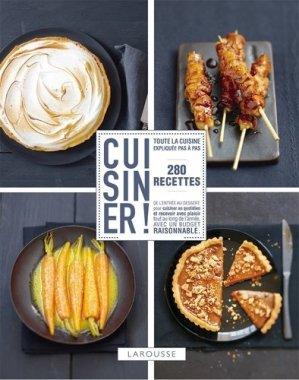 Cuisiner ! 280 recettes - Larousse - 9782035891945 - majbook ème édition, majbook 1ère édition, livre ecn major, livre ecn, fiche ecn