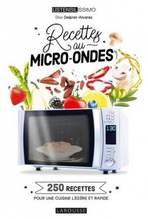 Cuisiner au micro-ondes - Larousse - 9782035991034 -