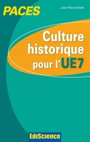 Culture historique pour l'UE7 - édiscience - 9782100598885 -