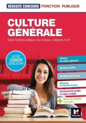 Culture générale - Tous concours - Préparation complète - foucher - 9782216148981 -
