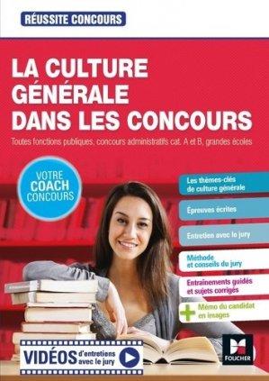 Culture générale - Tous concours Fonction publique - Préparation complète. Edition 2020 - Foucher - 9782216158256 -