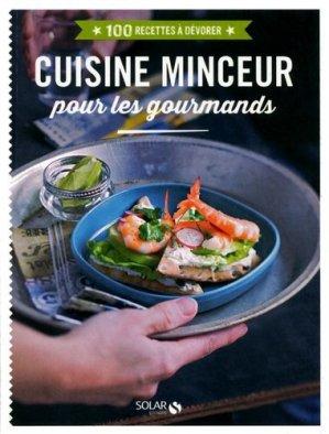 Cuisine minceur pour les gourmands - solar - 9782263067754 -