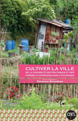 Cultiver la ville - l'harmattan - 9782343136943 -