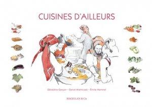 Cuisines d'ailleurs - magellan et cie - 9782350745763 -