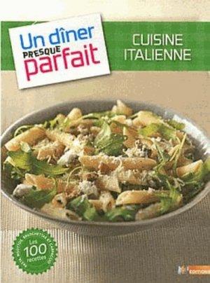 Cuisine italienne - m6  - 9782359850413 -