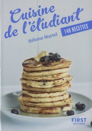 Cuisine de l'étudiant - first editions - 9782412042724 -