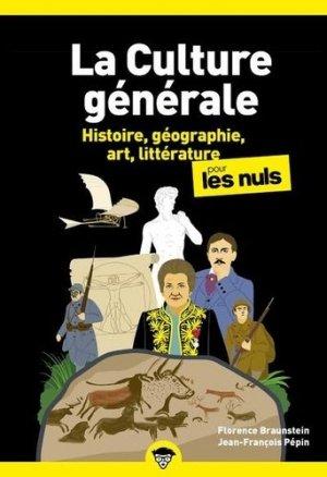 Culture generale poche pour les nuls - tome 1 nouvelle edition - first editions - 9782412064320 -