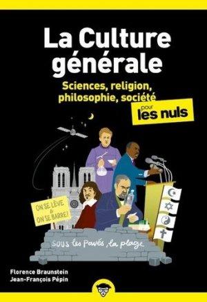 Culture generale poche pour les nuls - tome 2 nouvelle edition - first editions - 9782412064337 -