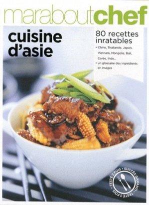Cuisine d'Asie - Marabout - 9782501079037 -