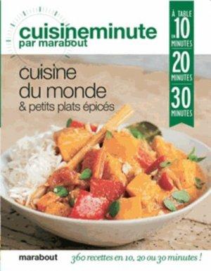 Cuisine du monde & petits plats épicés - Marabout - 9782501084253 -