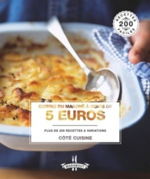 Cuisiner pour moins de 5 euros - Marabout - 9782501096416 -