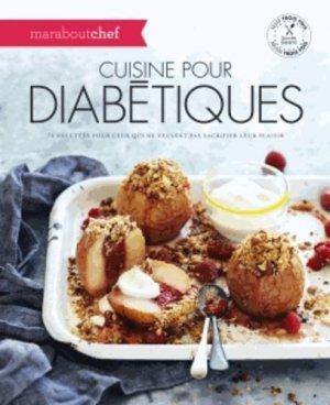 Cuisine pour diabétiques - marabout - 9782501100380 -
