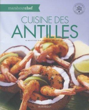 Cuisine des Antilles - Marabout - 9782501109727 -