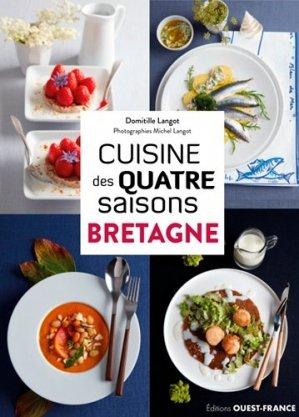 Cuisine des 4 saisons en Bretagne - Ouest-France - 9782737382475 -