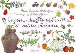 Cuisine des Fleurs, Feuilles et petites Salades - Edisud - 9782744907869 -