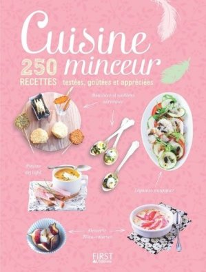 Cuisine minceur - first editions - 9782754083096 -