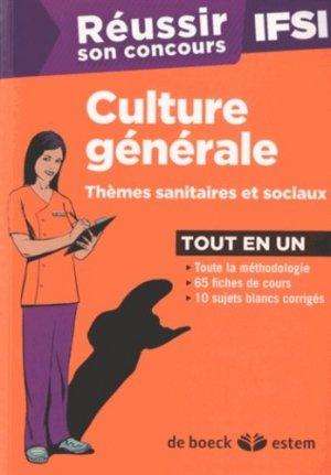 Culture générale - de boeck superieur - 9782843715778 -