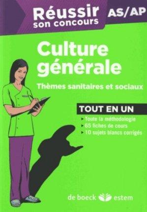 Culture générale - estem - 9782843716119 -