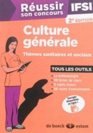 Culture générale - estem - 9782843716904