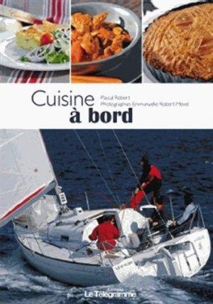 Cuisine à bord - le telegramme - 9782848333090 -