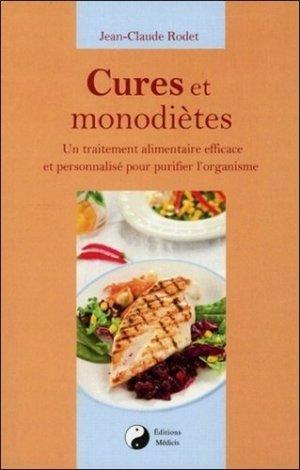 Cures et monodiètes - medicis - 9782853274531 -