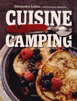 Cuisine camping - Modus Vivendi - 9782895237686 -