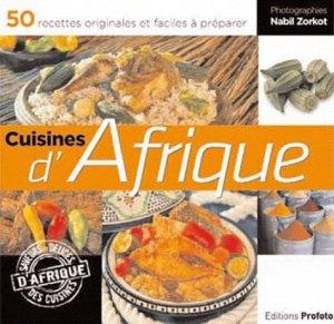 Cuisines d'Afrique - Editions Profoto - 9782952430449 -