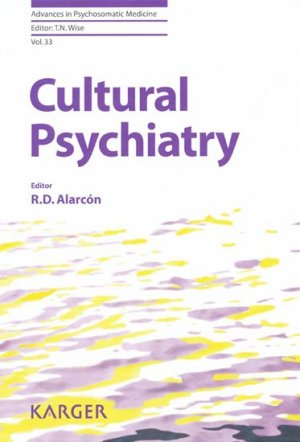 Cultural Psychiatry - karger - 9783318023947 -