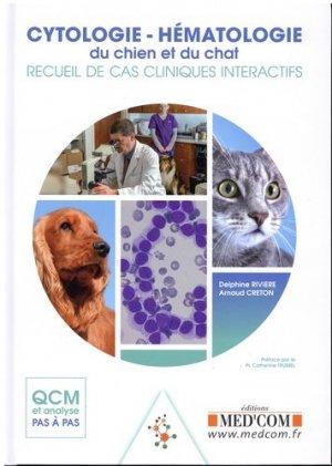 Cytologie-hématologie du chien et du chat-med'com-9782354032500