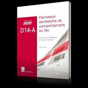 D14-A - Panneaux sandwichs - Comportement au feu - cnpp - 2224583106012 -