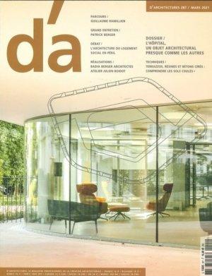 D'Architectures n°287 - Mars 2021 - revue d'architectures - 3663322114038 -