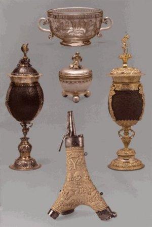 D'argent, de nacre et d'os - musees de strasbourg - 9782351251324 -