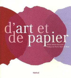 D'art et de papier - Textuel - 9782845973145 -