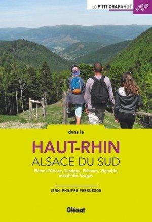 Dans le Haut-Rhin Alsace du Sud - glenat - 9782344027752 -