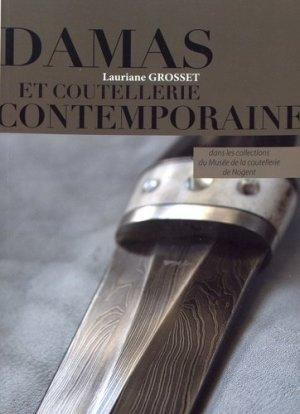 Damas et coutellerie contemporaine - crepin leblond - 9782703004264 -