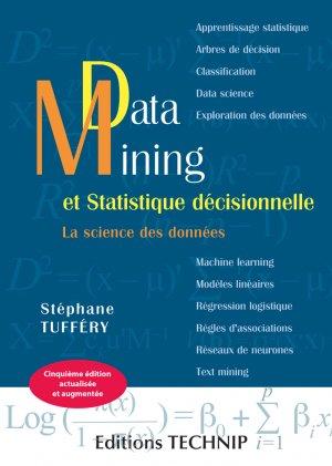 Data mining et statistique décisionnelle - technip - 9782710811800 -