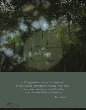 David Toutain - de la martiniere - 9782732490304 -