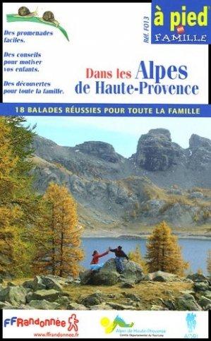 Dans les Alpes de Haute-Provence - ffrp - 9782751400957 -