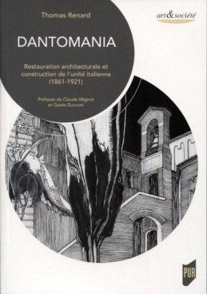 Dantomania - presses universitaires de rennes - 9782753576391 -