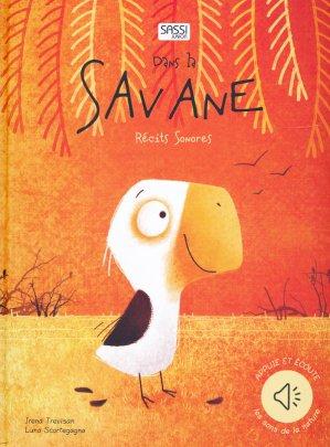 Dans la savanne : récits sonores - sassi - 9788868607579 -