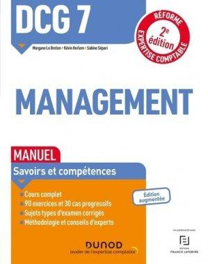 DCG 7 Management - Dunod - 9782100826223 -