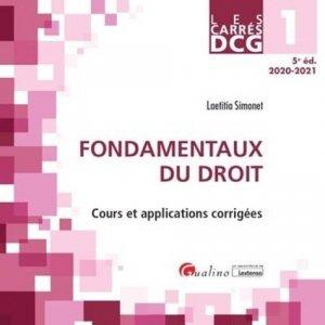 DCG 1 Fondamentaux du droit - gualino - 9782297091480 -