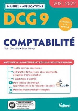 DCG 9 - Comptabilité : Manuel et Applications 2021-2022 - Vuibert - 9782311405859 -