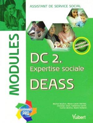 DC 2. Expertise sociale DEASS - vuibert - 9782711716340