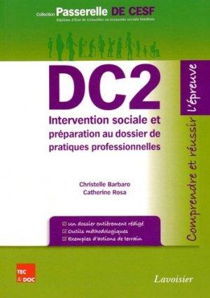 DC2 Intervention sociale et préparation au dossier de pratique professionnelle - lavoisier / tec et doc - 9782743014094 -