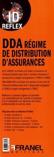 DDA régime de distribution d'assurances - arnaud franel - 9782896037131 -