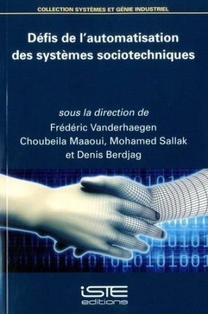 Défis de l'automatisation des systèmes sociotechniques - iste  - 9781784055394 -