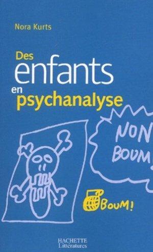 Des enfants en psychanalyse - Hachette - 9782012356672 -