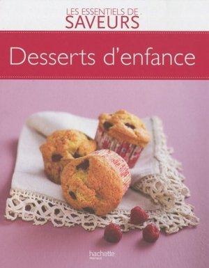 Desserts d'enfance - Hachette - 9782012381230 -