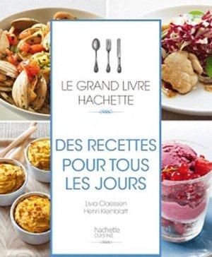 Des recettes pour tous les jours - Hachette - 9782012382930 -